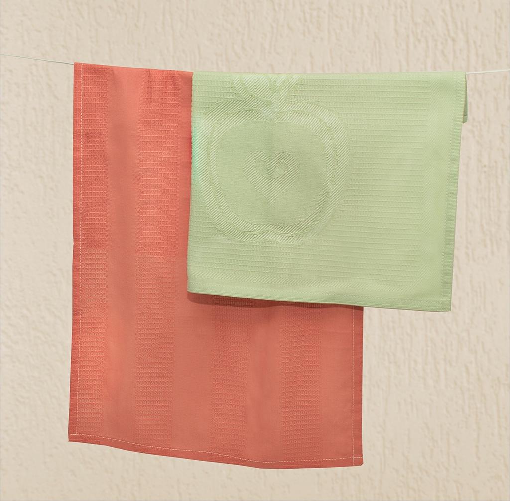 Набор столового белья Bonita Яблочный смузи, салатовый, коралловый зубная паста babyline тутти фрутти