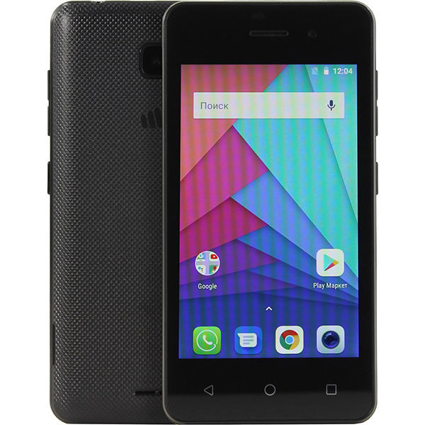 Смартфон Micromax Q306 0.5/4GB black цена