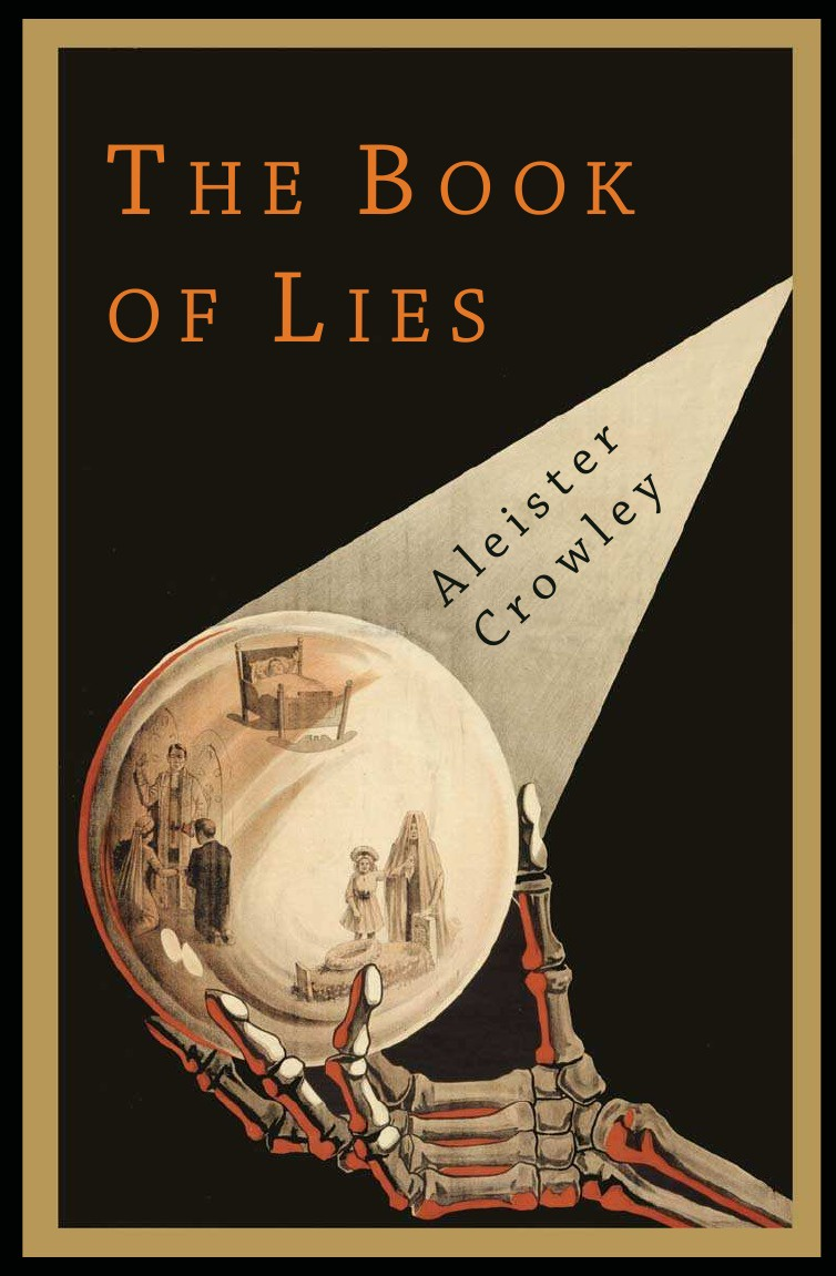 Aleister Crowley The Book of Lies the eye of the world the wheel of time book 2 chinese edition 400 page