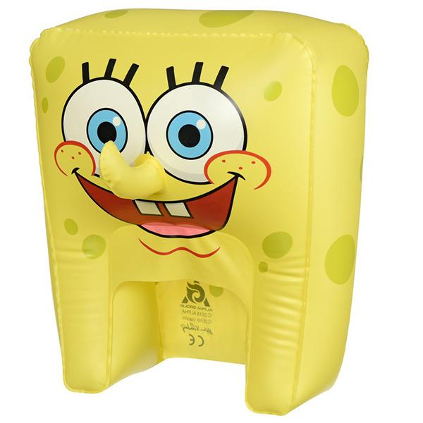 Шляпа надувная SpongeBob Спанч Боб смеется, EU690601 мягкая игрушка spongebob спанч боб со звуковыми эффектами eu690903
