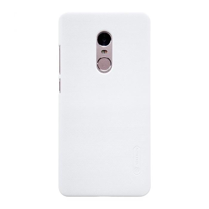 Чехол для сотового телефона Nillkin Super Frosted Shield, белый аксессуар чехол nillkin для meizu m6 note super frosted shield gold t n mm6n 002
