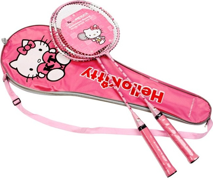 Набор для бадминтона HELLO KITTY HDA21625, розовый