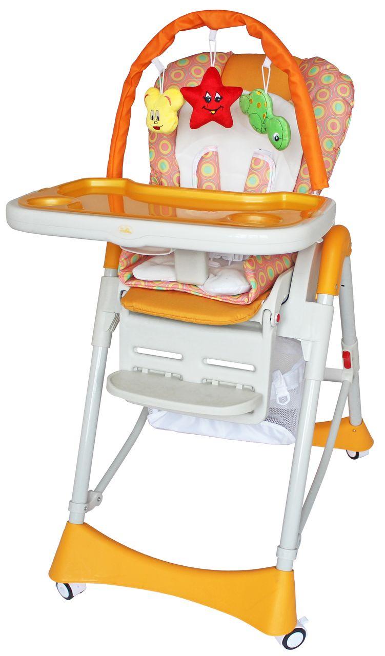 Стульчик для кормления ForKiddy Magic Toys Orange 0+ оранжевый