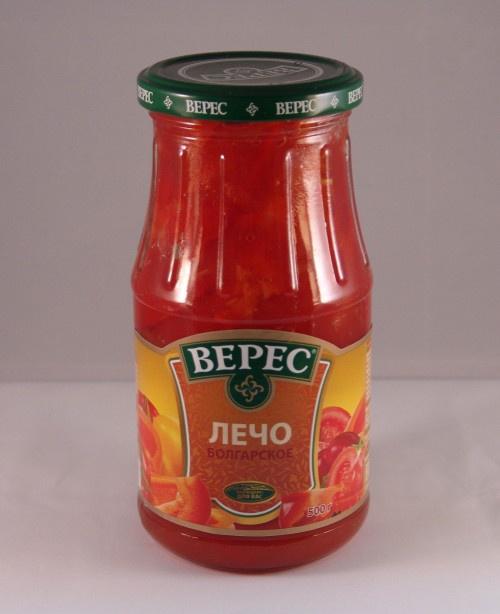 Овощные консервы Верес 00-00000030 Стеклянная банка, 500