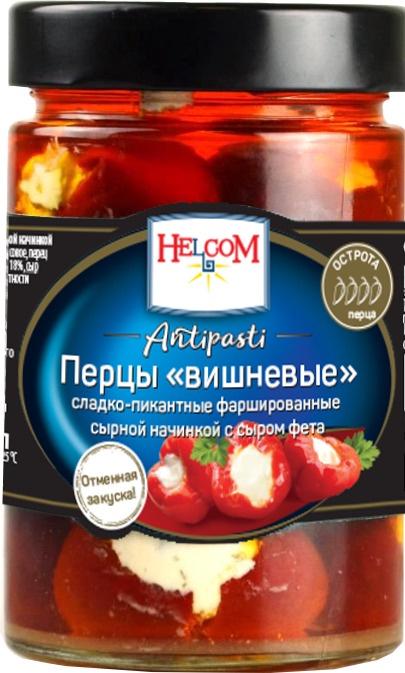 Овощные консервы HELCOM УД-00001498 Стеклянная банка, 280