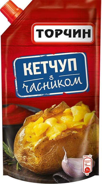Кетчуп С ЧЕСНОКОМ Торчин