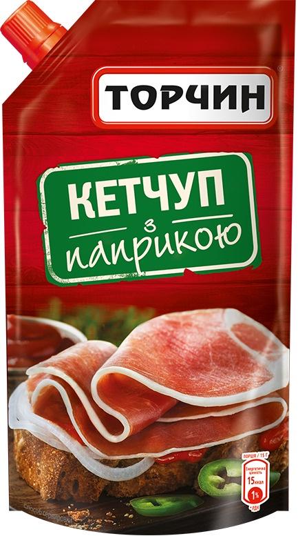 Кетчуп с паприкой Торчин