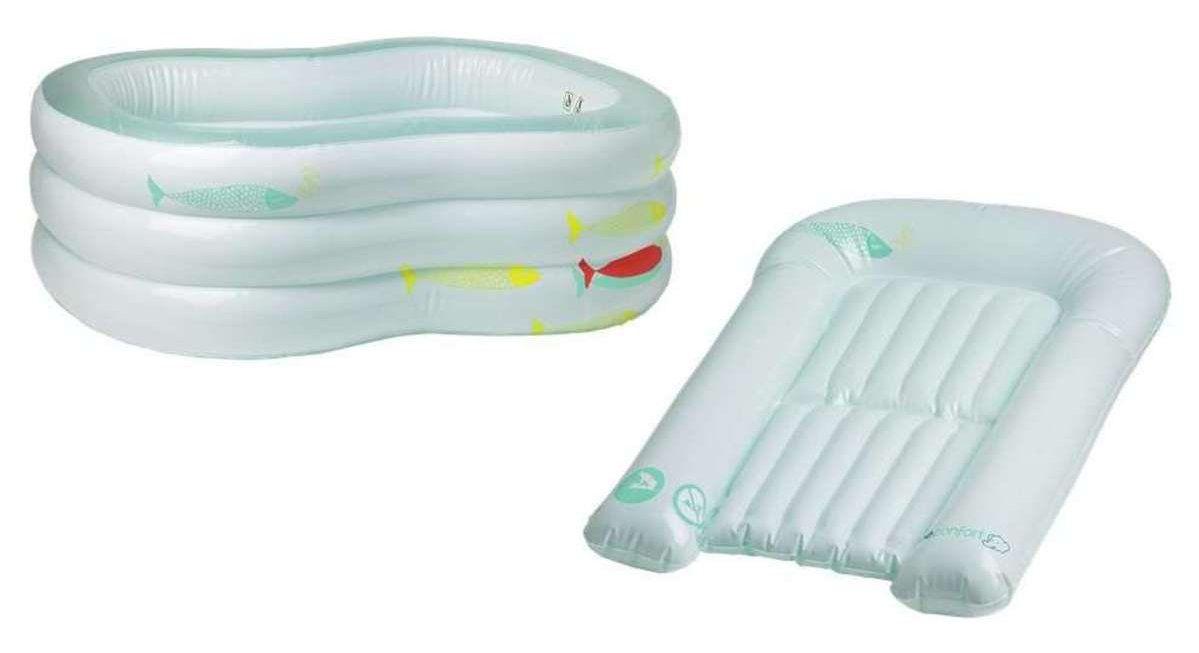детские ванночки Матрасик для купания Bebe Confort Sweet Sorbet белый