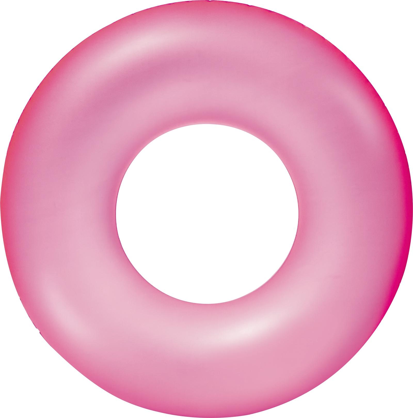 Надувной круг Bestway 36024, розовый