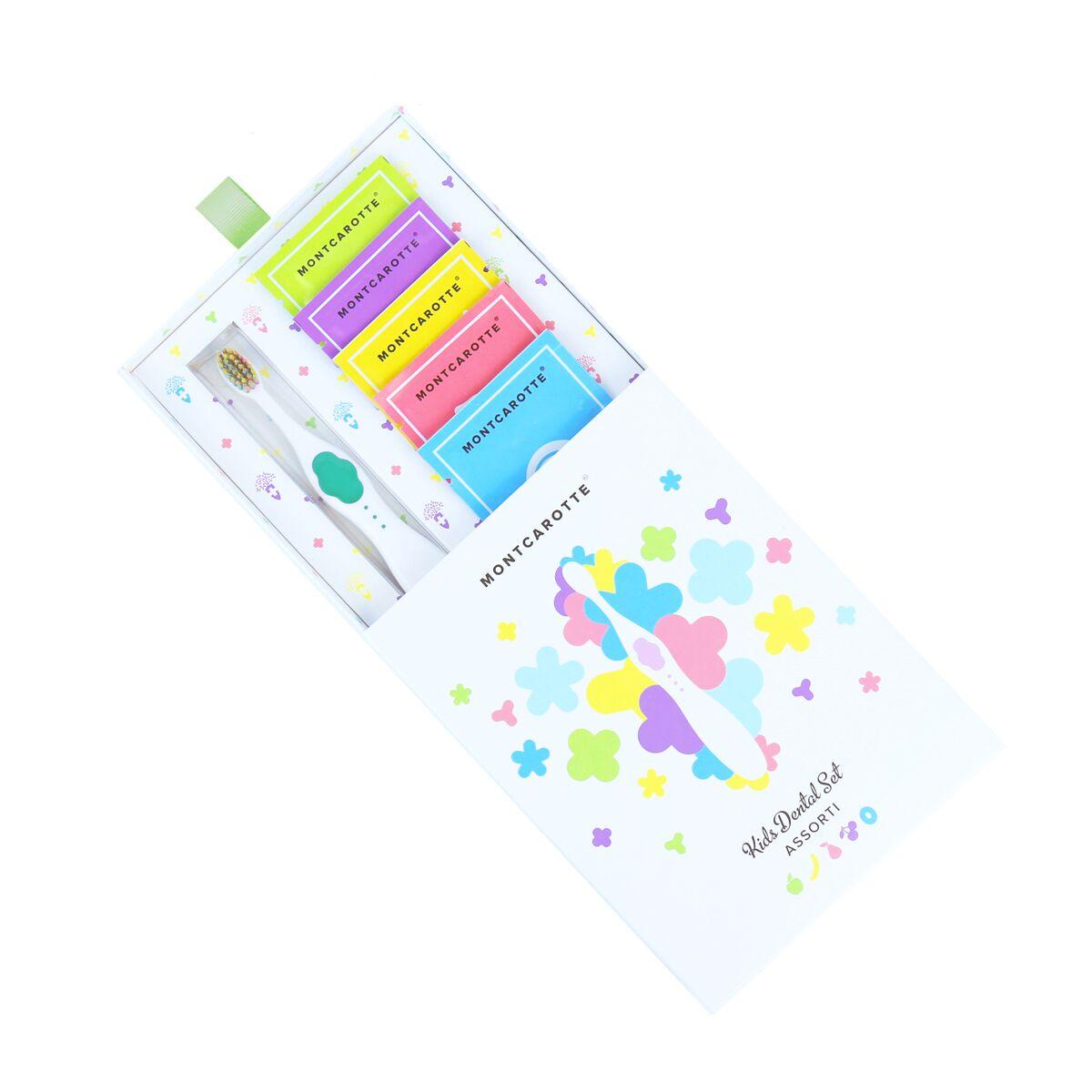 Подарочный набор Зеленый детской косметики для зубов для детей