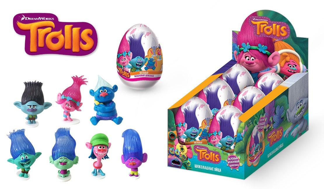 Шоколадное яйцо  00-00003946 Коробка состоит из 6 больших...