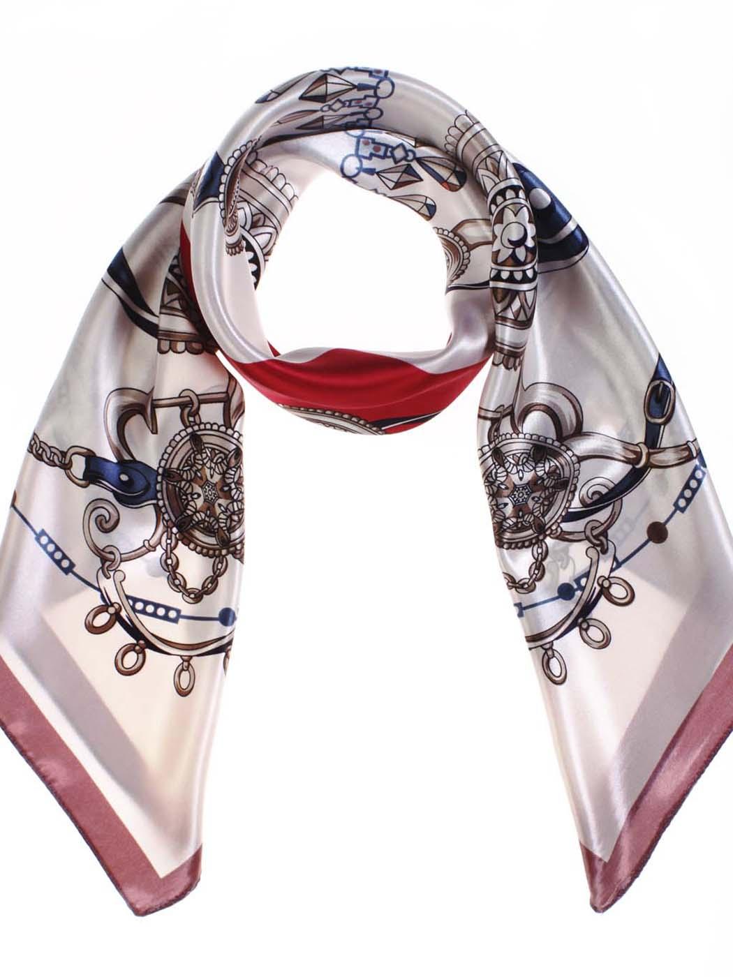Платок Vita Pelle платок женский модные истории цвет розовый 23 0582 115 размер 90 см x 90 см
