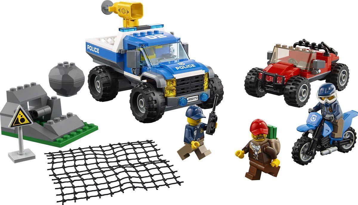 Пластиковый конструктор LEGO 60172