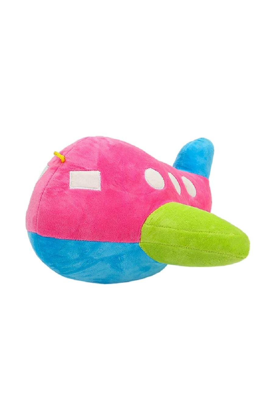 Мягкая игрушка TashaToys Игрушка мягкая. Самолет. розовый