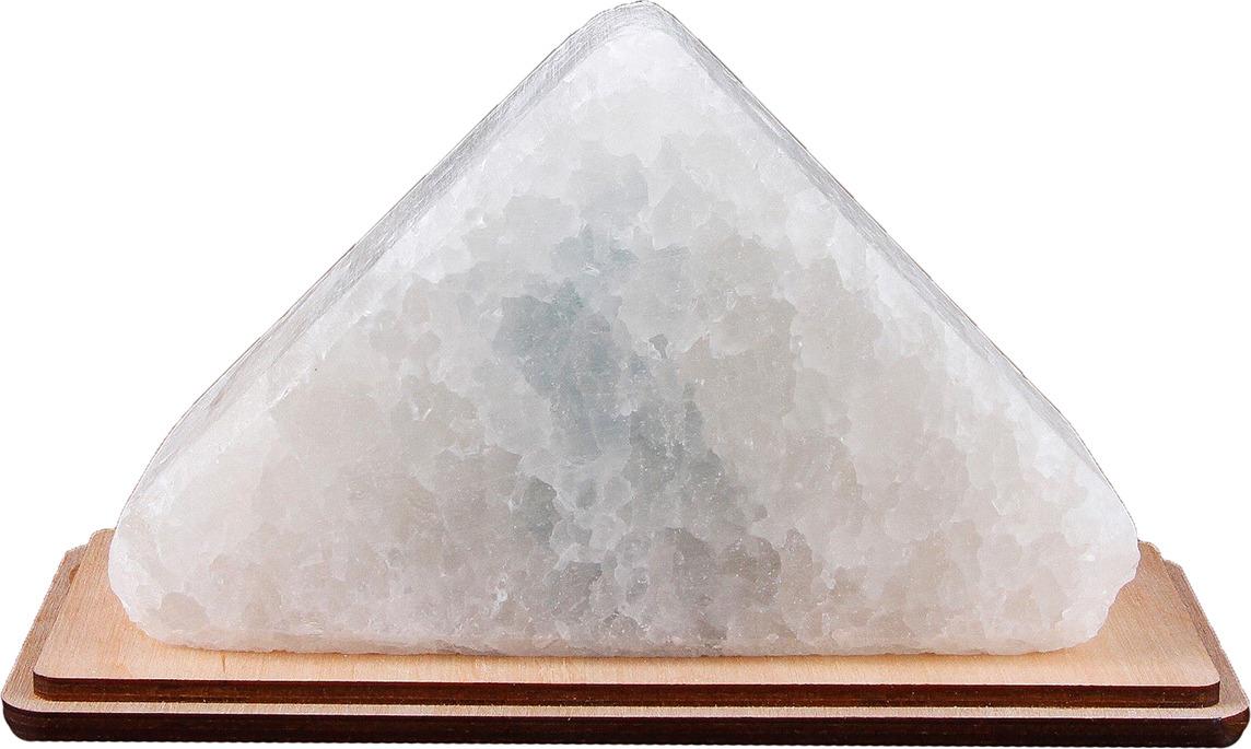 Декоративный светильник Треугольник малый, соляной, E14, 20W, 2702015, синий, 8,5 х 10,5 х 17,5 см