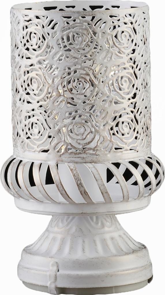 Декоративный светильник Risalux Букет роз, LED, 3505462, белый, золотистый, 20 х 10 х 10 см