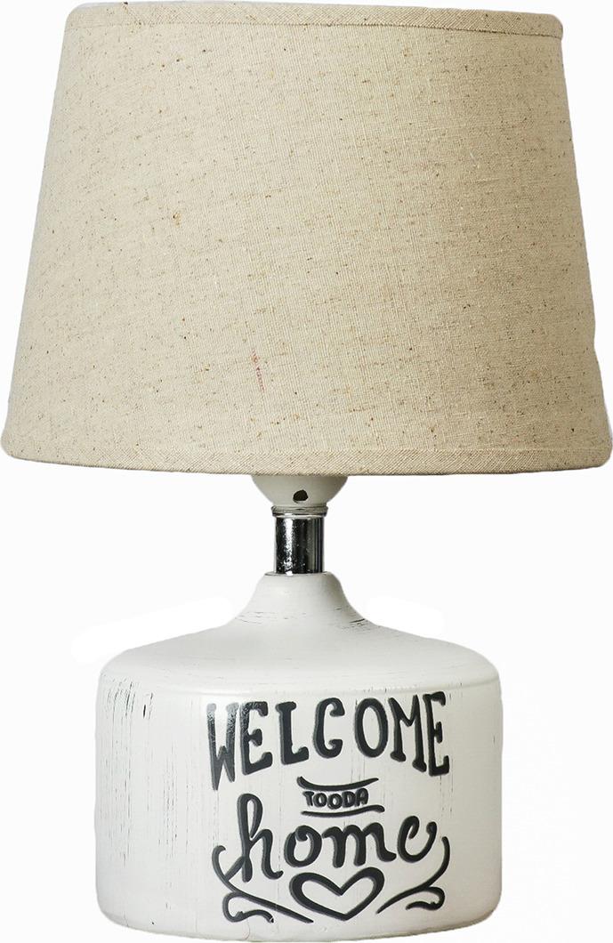 Настольный светильник Risalux Добро пожаловать E27 40W, E27, 40 Вт настольный светильник risalux одуванчики e27 40w 3635955 13 х 13 х 30 5 см