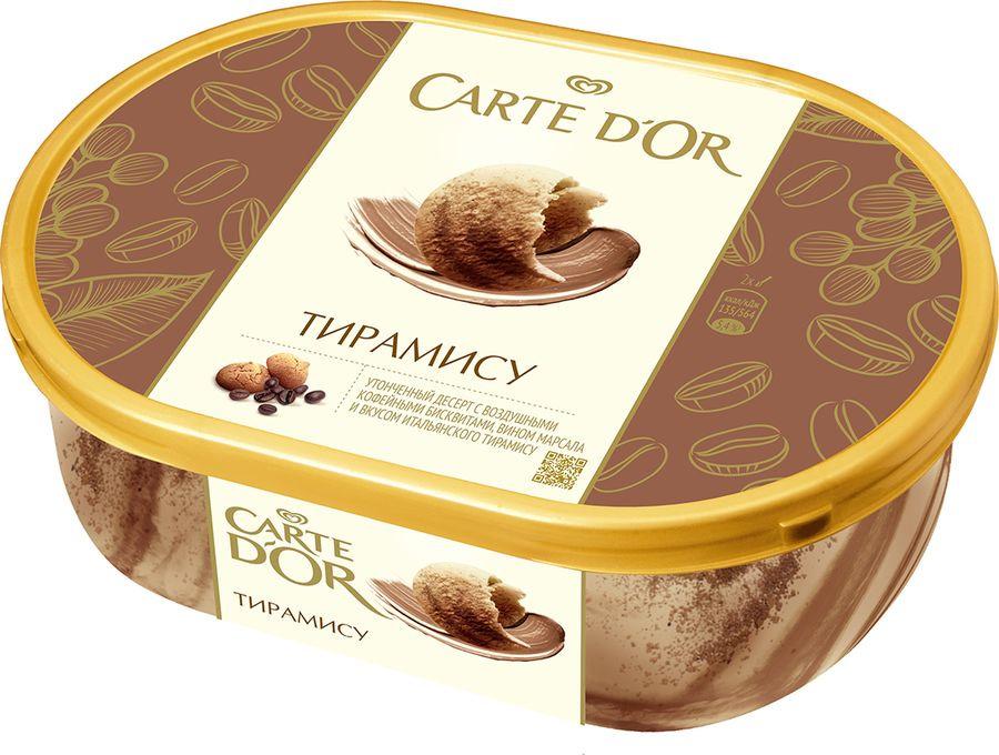 Мороженое Carte D'or Тирамису, 475 г dr oetker крем тирамису 64 г