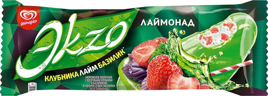 Мороженое Экзо Эскимо Лимонад, 70 г Экзо