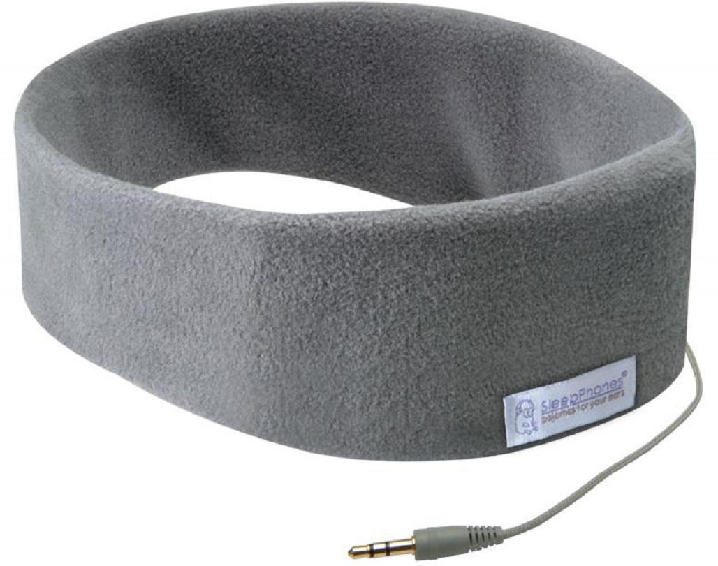 Наушники SleepPhones Classic Fleece, серый беспроводные наушники acousticsheep sleepphones wireless breeze темно синий