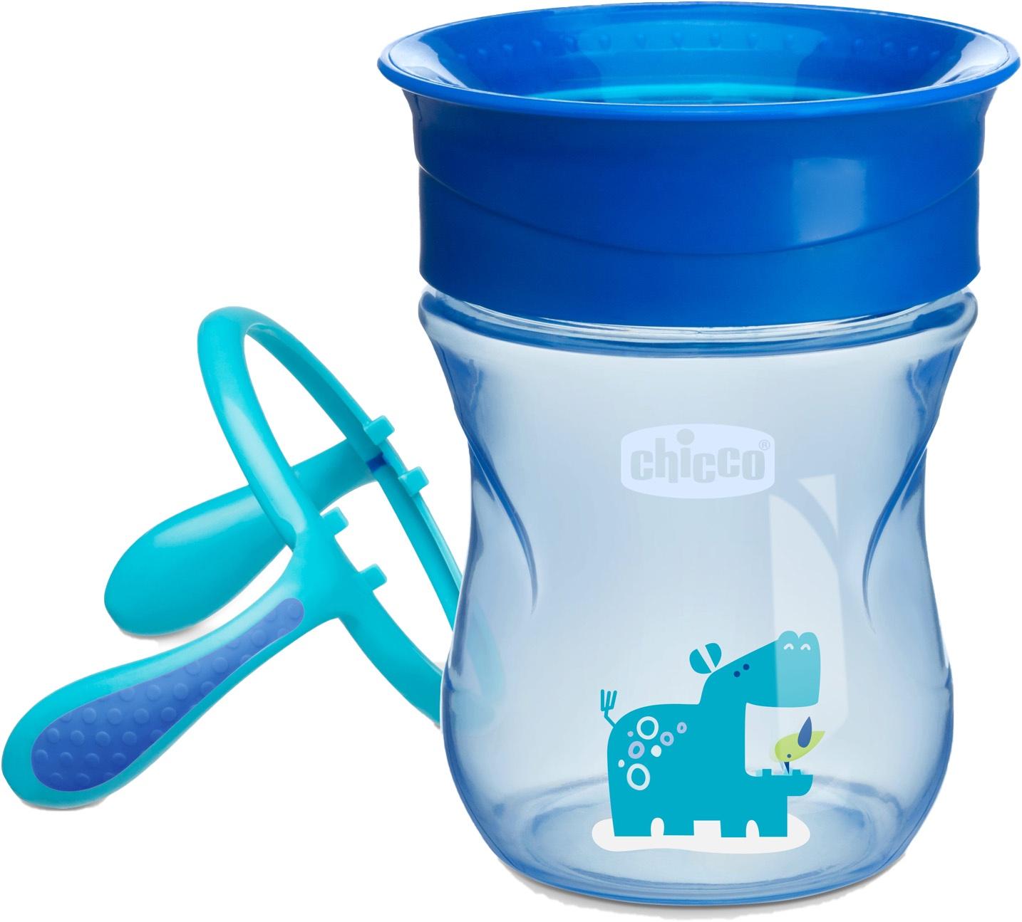 Поильник Chicco Perfect Cup (носик 360) голубой