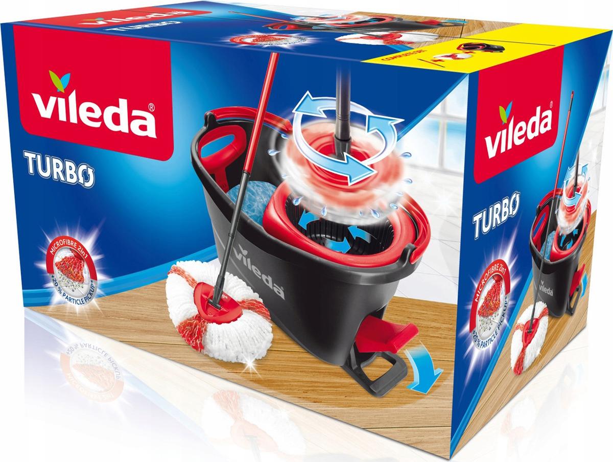 Набор для уборки Vileda Easy Wring, 2 предмета32110750Набор для влажной уборки пола состоит из швабры с телескопической ручкой и ведра с педальным отжимом. Ведро изготовлено из прочного пластика и оснащено удобной удлиненной ручкой и педальным отжимом. Педальный отжим дает полную свободу рукам во время уборки. Ведро с педальным отжимом отжимает качественно, не брызгается, все брызги летят в ведро. Отжим механический - не требует электрической зарядки. На внутренней поверхности ведра интегрирована шкала делений (для удобства дозирования моющих средств) и уровня максимум. Так же на ведре есть специальный носик и выемка под руку для удобства выливания воды. Есть фиксатор для ручки швабры, удобный при перемещении ведра и хранении набора. Швабра имеет телескопическую ручку (фиксируется в двух местах), минимизирующую нагрузку на спину во время уборки. Основание швабры треугольной формы качественно собирает мусор даже в труднодоступных местах (углах). Комбинированная насадка из микрофибры идеально захватывает и удерживает мелкие частицы, пыль, волосы; удаляет загрязнения, включая жирные пятна; легко отжимается до оптимальной влажности. Насадку можно стирать в стиральной машине при низких температурах и без использования кондиционера. Сменные насадки можно приобрести отдельно. Длина телескопической ручки: 55-130 см. Размер насадки: 14,5 см х 14,5 см. Размер ведра: 46 см х 28 см. Высота ведра: 28,5 см. Рекомендуем!