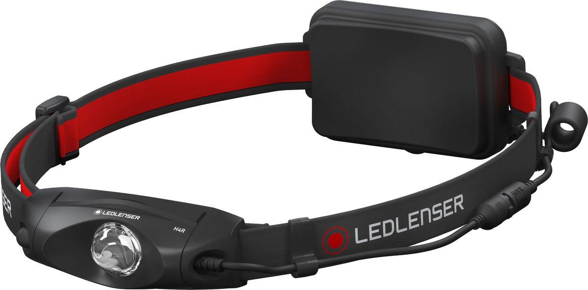 Налобный фонарь LED Lenser H4R, 501098, черный