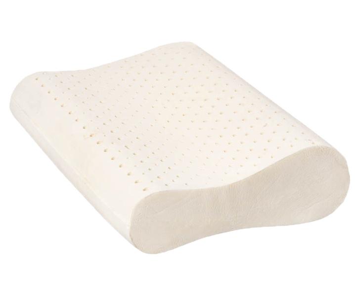 Ортопедическая подушка Arpico ARP-8ARP-8Латексная подушка анатомической формы для правильной поддержки головы и плеч во время сна. Подушка с двумя валиками высотой 11 и 13 см. Подушка из натурального наполнителя в тоненьком съемном чехле из 100% хлопка, которая максимально приближает латекс к телу для максимального достижения эффекта.