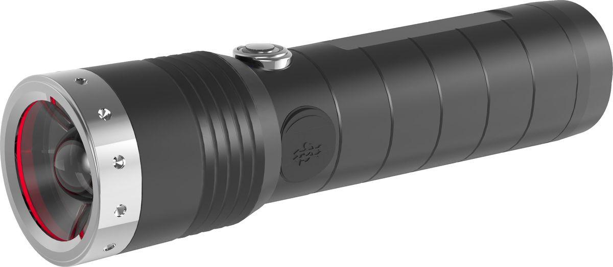 Ручной фонарь LED Lenser MT14, 500924, черный