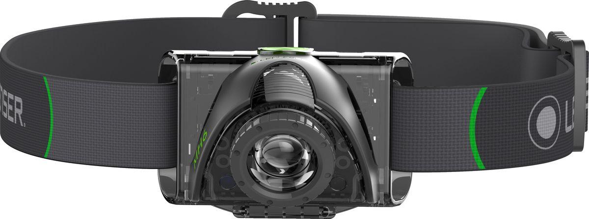 Налобный фонарь LED Lenser MH6, 501512, черный