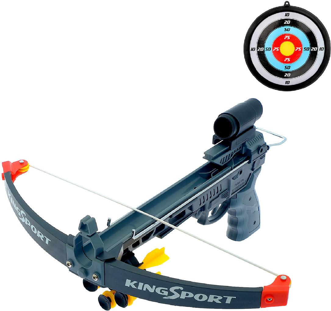 Игрушечное оружие Арбалет Грэй, с мишенью, 3014930 игрушечное оружие s s toys арбалет со световыми эффектами