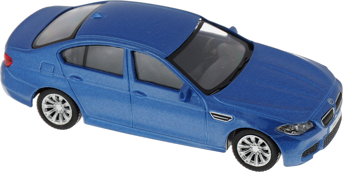 Машинка Uni-Fortune Toys RMZ City BMW M5, масштаб 1:43, 444003-цвет: синий автовоз dickie toys city цвет синий 44 5 см 1 машинка