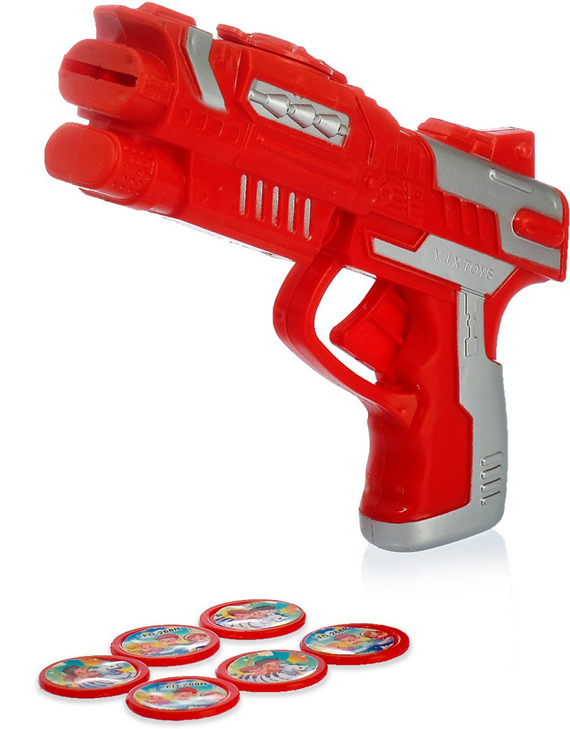 Игрушечное оружие Пистолет Дискер, 3727434 игрушечное оружие пистолет воздушная атака 2894991
