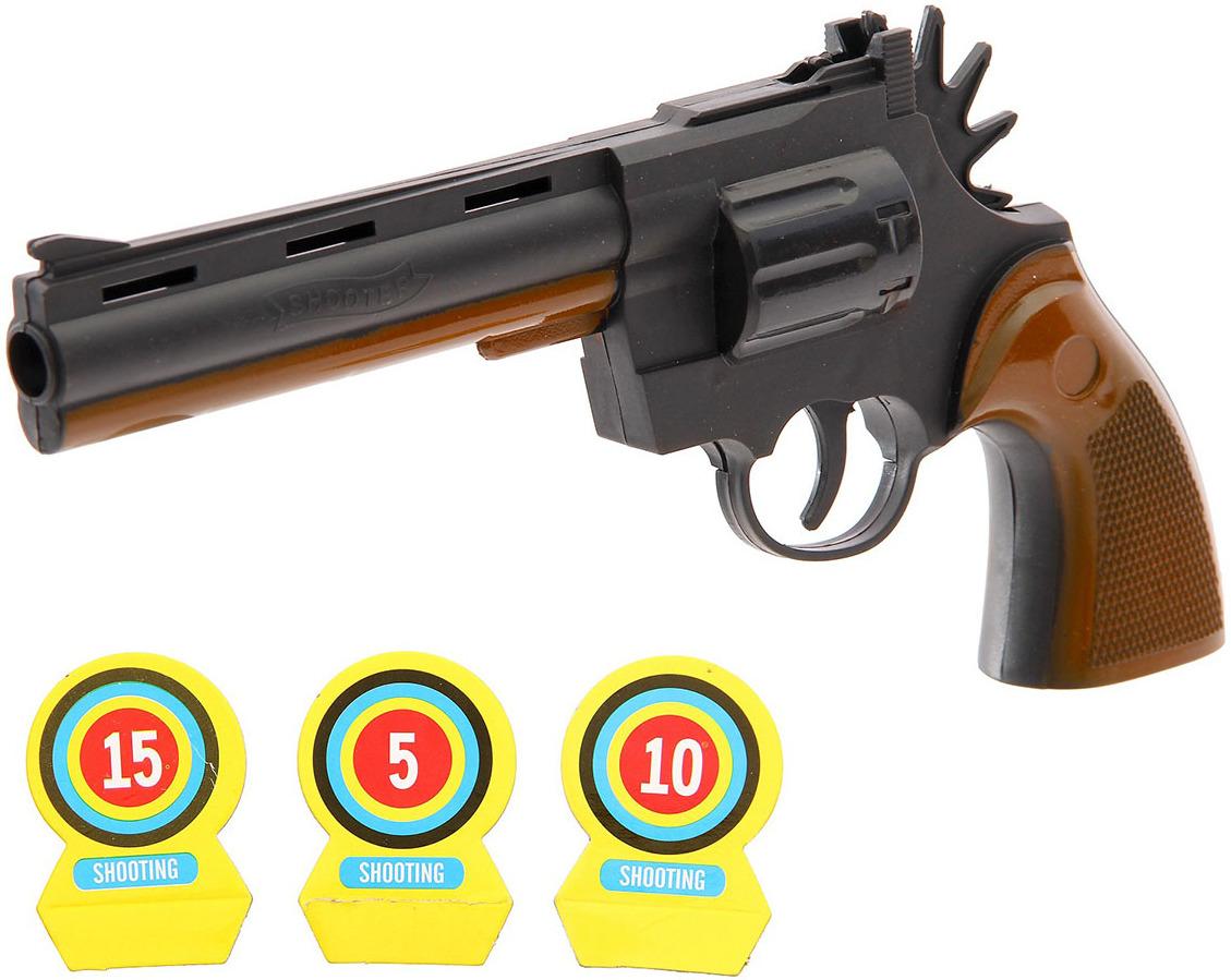 Игрушечное оружие Пистолет Ковбой, 2617237 игрушечное оружие пистолет воздушная атака 2894991