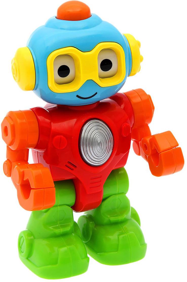 Робот с трещащими элементами, 1689442 развивающая игрушка vtech говорящий жук со светом