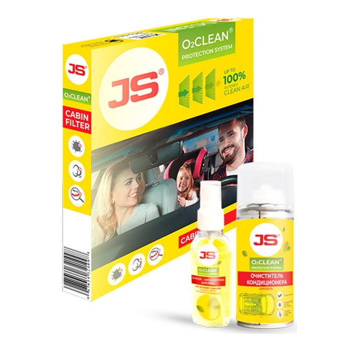 Салонный фильтр JS AC9401B-K Антибактериальная система очистки воздуха в салоне автомобиля JSO2CLEAN