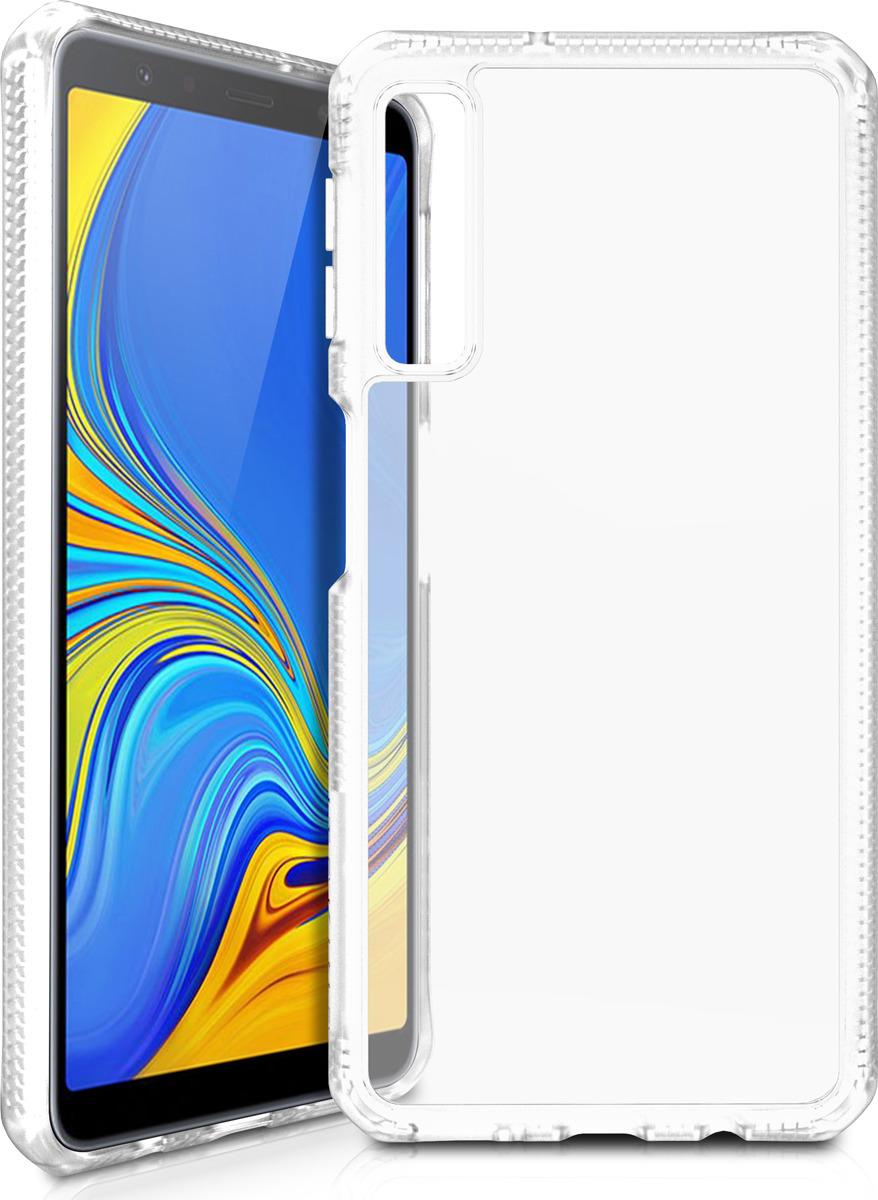 Чехол-накладка Itskins Hybrid MKII для Samsung Galaxy A7 (2018), прозрачный