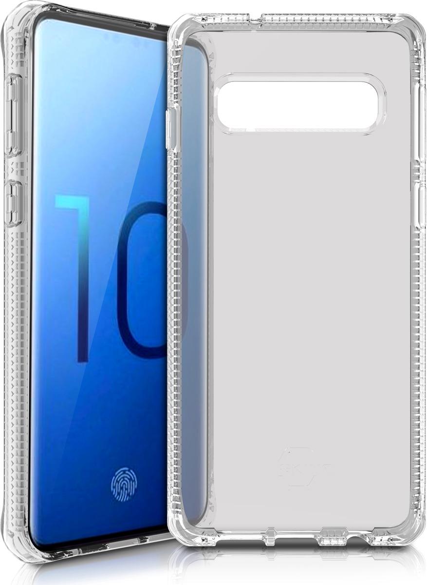 Чехол-накладка Itskins Spectrum Clear для Samsung Galaxy S10, прозрачный