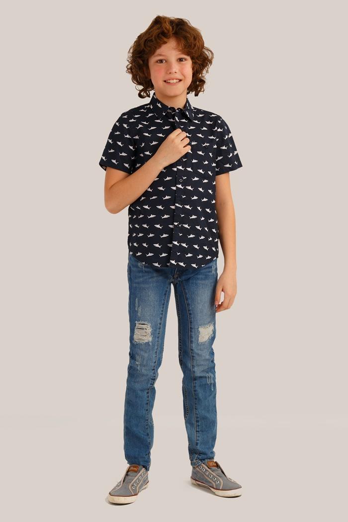 Рубашка Finn Flare Kids недорго, оригинальная цена