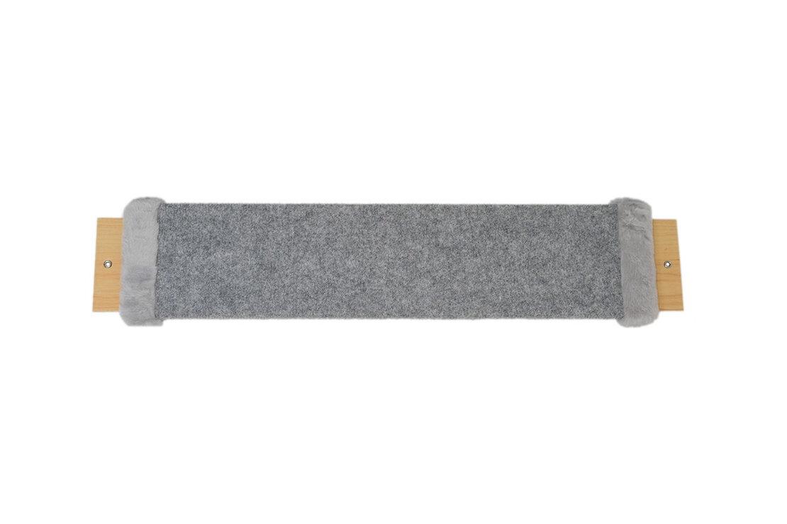 <b>Когтеточка настенная Scratch board</b> MINI 57/12 серая, серый ...