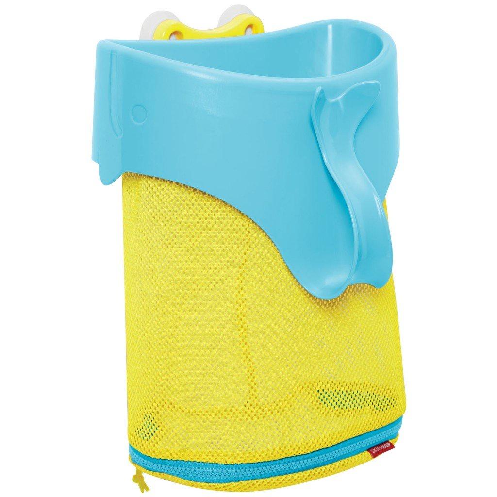 """Игрушка для ванной SkipHop Органайзер-ковш для ванной """"Китенок"""" голубой, желтый"""