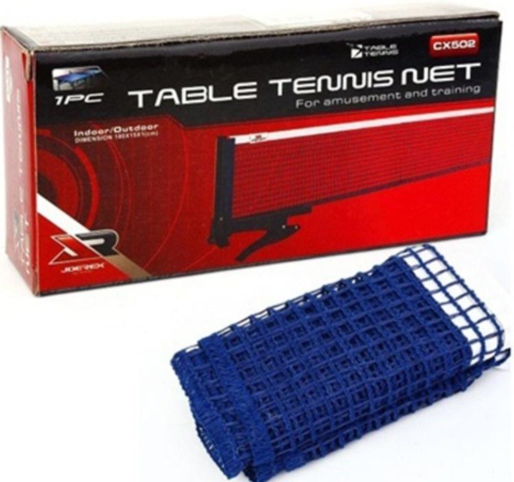 Сетка для настольного тенниса JOEREX CX502, синий платье для тенниса asics w club dress цвет розовый синий 141173 0688 размер m 46 48