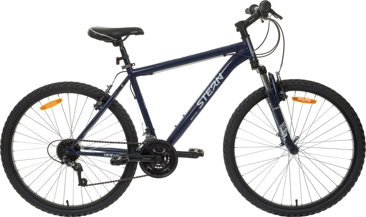 Велосипед горный Stern Dynamic 1.0 26, синий, колесо 26, рама 16