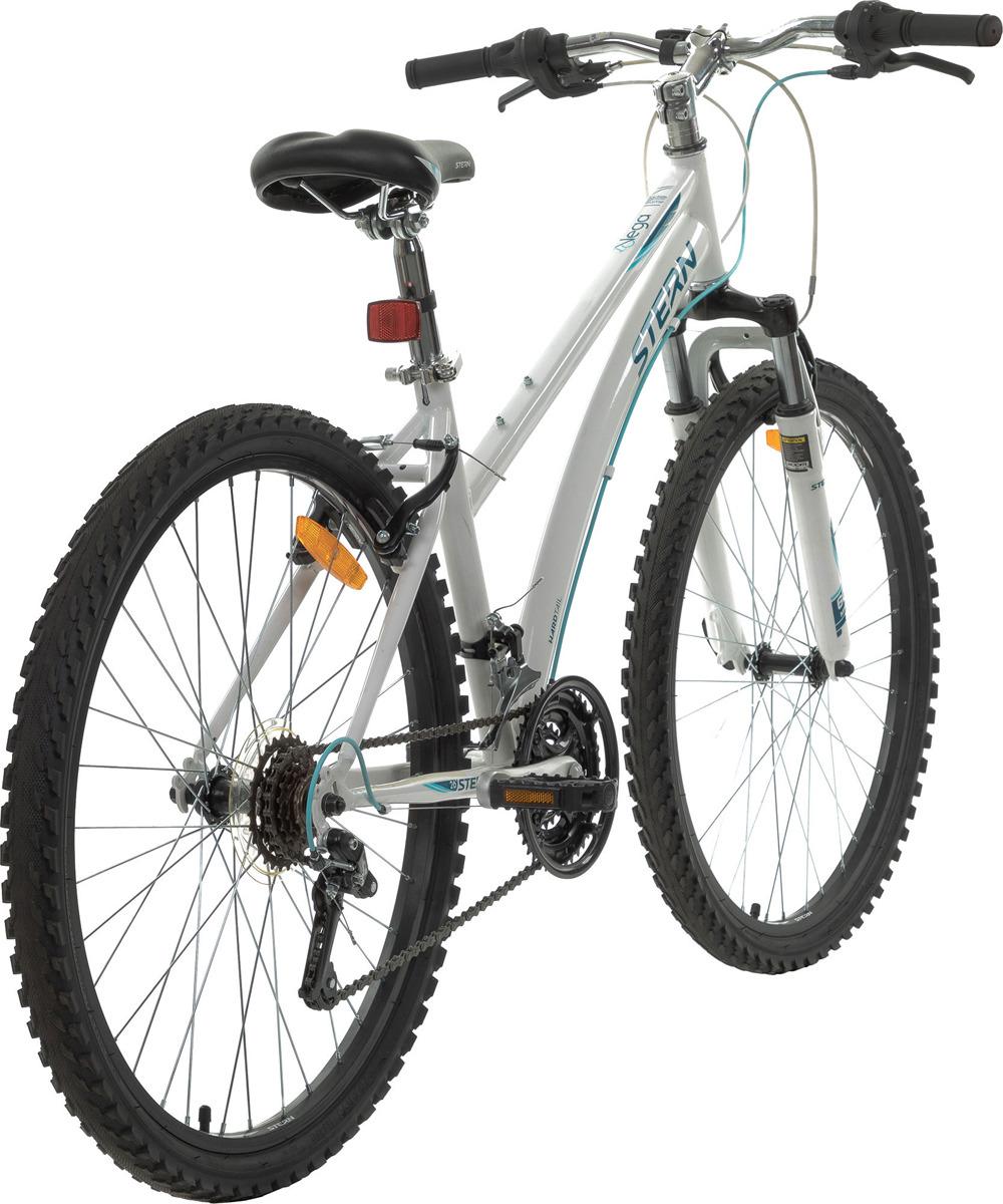 Велосипед горный Stern Vega 1.0 26, белый, голубой, колесо 26