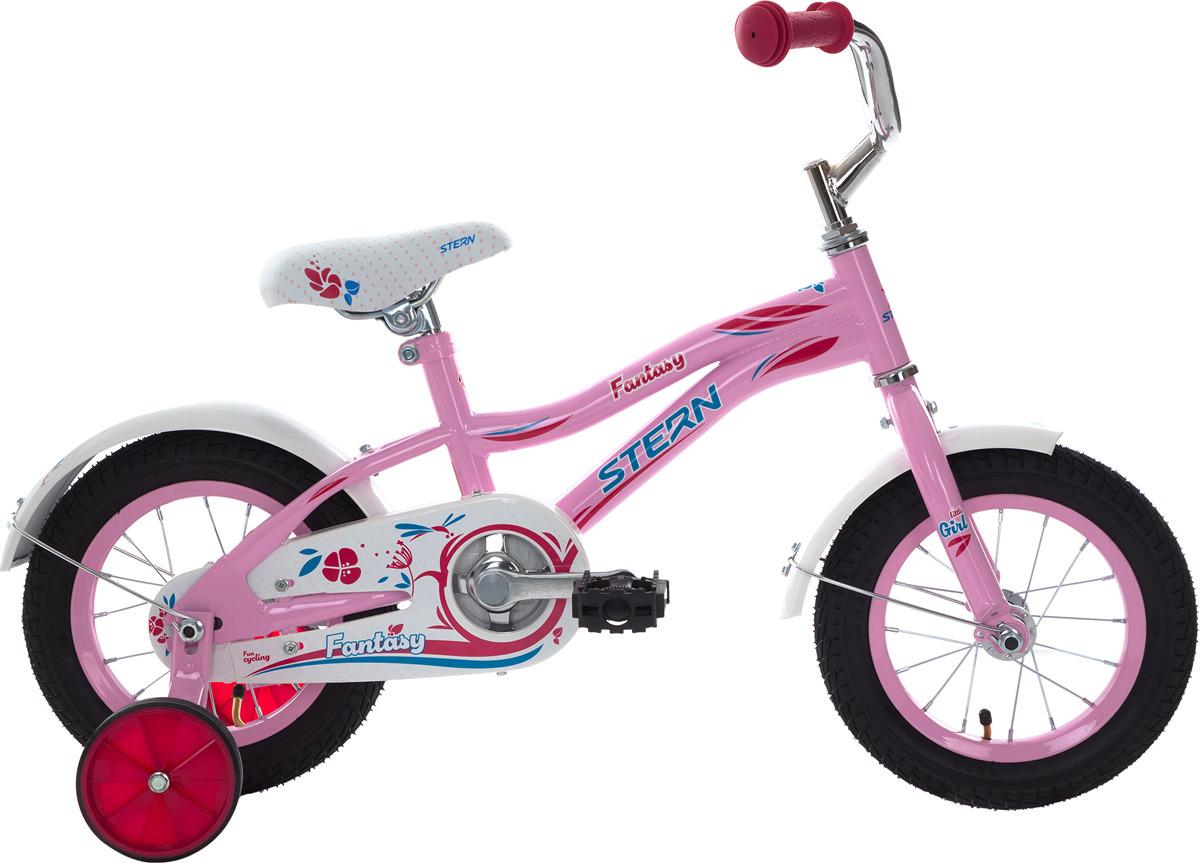 Велосипед детский Stern Fantasy 12, розовый, колесо 12