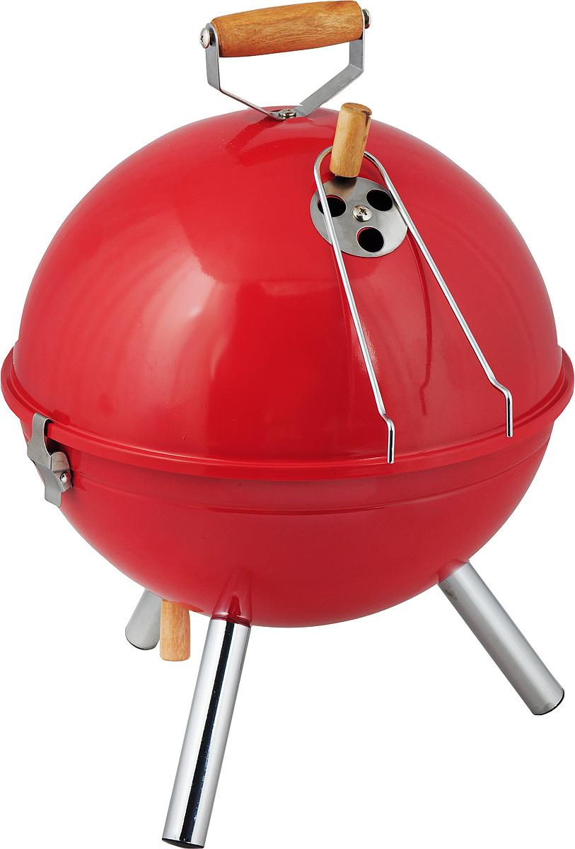 Жаровня для пикника RoyalGrill Фобос, с крышкой, диаметр 30 см. 80-115