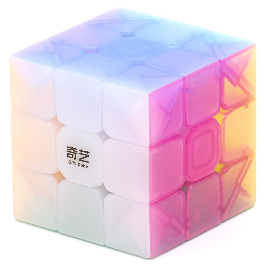 Головоломка Mofangge Кубик Рубика 3X3 Warrior W Jelly головоломка mofangge кубик x man 7x7 spark magnetic