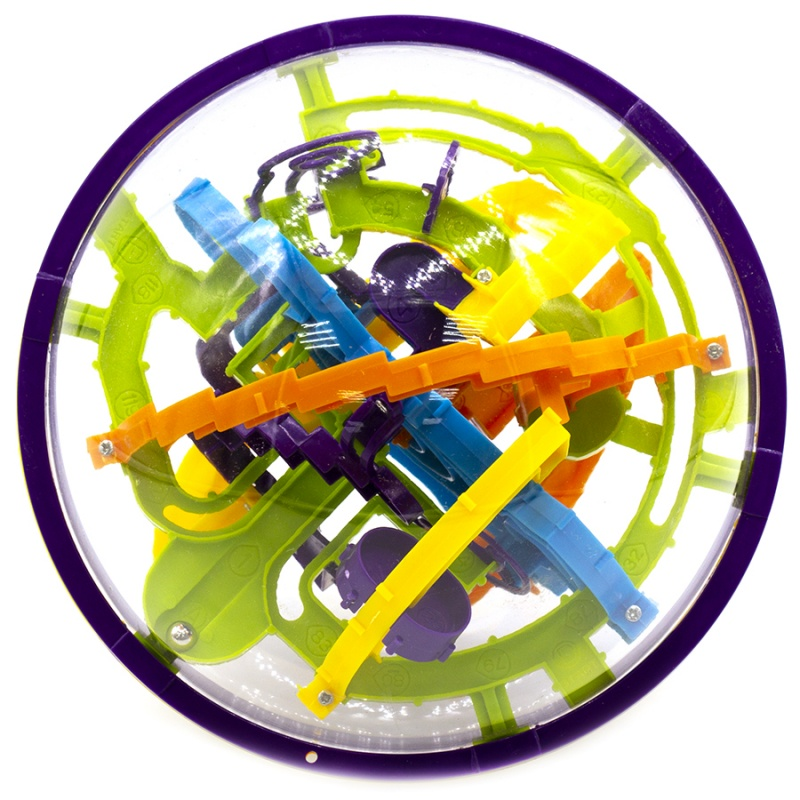 Головоломка Icoy Toys Шар Лабиринт цветной (158 ходов) игра головоломка recent toys cubi gami