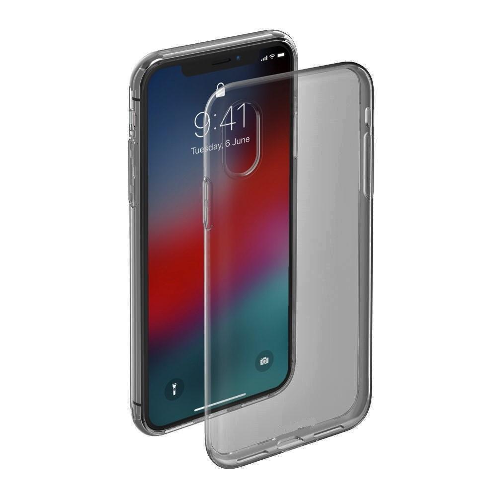 Чехол для сотового телефона ONZO iPhone X, серый, черно-серый