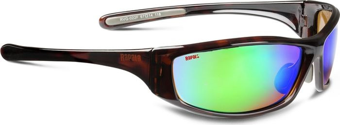 Очки спортивные Rapala Sportsman's Mirror RVG-022F, черепаховый очки rapala sportsman s rvg 004b